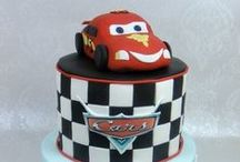 Cake Cars/Planes-Pixar / novelty cakes based cake in the form of the film CARS the animated cartoon
