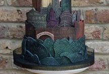 Cake Buildings / novelty cakes based cake in the form buildings real and fictitious if your looking for castles i have a separate board dedicated to castle cakes