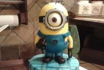 Cake Despicable Me / novelty cakes based cake on the theme of  on Despicable Me characters and themes