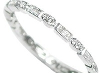 Diamond Bands / by WEDDINGRINGS.COM