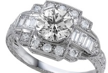 Engagement Rings - Vintage Style / by WEDDINGRINGS.COM