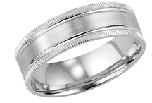 Mens Wedding Rings - Classic Style / by WEDDINGRINGS.COM