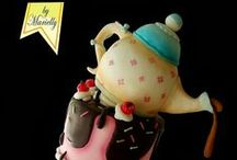 Cake Cups/Teapots / novelty cakes based cake on the theme of  cups teapots and any type of drinking vessel