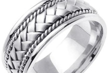 BRAIDED BANDS / by WEDDINGRINGS.COM
