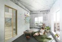 college apartment ideas / by Kamilla Hancock
