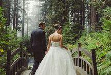 i do! / PNW Woodland Wedding Inspiration
