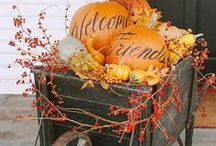 Giving Thanks / Thanksgiving food and decor