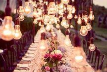 Casamentos / Decorações, detalhes, ideias incríveis de casamentos em bosques/matos bonitos