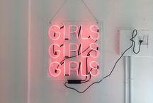 Amor em Neon / Letreiros de neon fofinhos