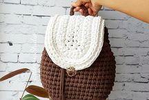 Crochê | Tricot / Itens de crochê e tricot para se inspirar e fazer