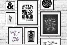 Posters para imprimir / Pôsteres para imprimir e deixar sua parede mais pinterest
