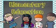 Elementary Education / Elementary teaching ideas, freebies, activities, blogs and resources for grades Kindergarten through fifth grade. Collaborators please pin 3 freebies, ideas or activities to 1 resource.