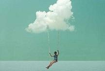 ☁ clouds ☁ / by nada jaffal