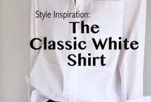 Styling a white shirt