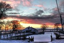 Lake Simcoe Sunsets / all our own photos