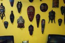 Mask Wall decor