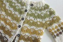 Knitting, croche & sewing.