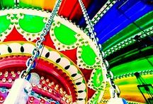 Carnivals & Fairs 🎪 / *✩⋆ I t ' s • S h o w • T i m e !⋆✩* Please feel free to pin as much as you like.  xx ◕‿◕ xx / by Tracey Falconbridge