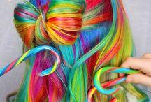 Hair / Pretty hairstyles