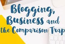 Blogging / Learn how to make money by turning your blog into a business. Tips for creating products, working with brands, and marketing.
