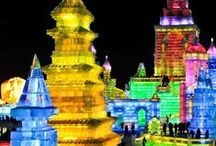 2016 Harbin Bucket List - did it!!! / Hubby and I spent 2016 New Year in Harbin. Freezing, Magical, Amazing, and so much fun with a group of friends...would do it again!