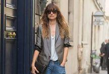 Style icon - Caroline de Maigret / French Model