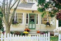 Napa Dream House / My goal is to buy a tiny fixer upper in Napa.  I love the cozy feel of a little cottage for a weekend get away.  It will need a TON of work but I look forward to the challenge.  These are images that inspire me on how I want to fix it up (after seeing some homes up there).  BTW, it will be yellow with white trim with a turquoise blue door.