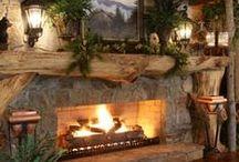Cozy Fireplaces / by Me-Lanie Mattox