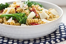 Pasta Dishes / Spaghetti, pasta salads, and all thing noodles and deliciousness. To join, go to the group board listing and leave comments on the pins representing the boards you want to join! http://www.pinterest.com/angengland/group-boards-by-angengland/