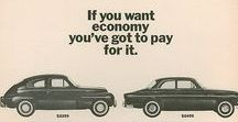 Classic/Current Volvo Ads / Volvo advertisements, classic and contemporary.