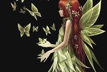 Fairies And Mermaids.