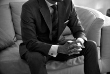 Pour Homme / Suits, outfits, suits, watches, suits, ties, suits and other accessories I find attractive on men. Did I mention suits? / by Huda Kamal