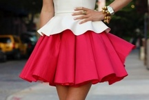 Flirty skirts & dresses / by Susi Reed