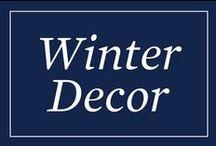 Winter/Holiday Decor