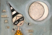 witches hats, coal black cats