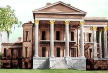"""Belle Grove Plantation / And what of the silence in that vast, empty house? Did it prance up and down the hallways, staircases, and out onto the pillared porticoes? Did it twist itself around the soaring Corinthian columns like ivy? Or was it like itself and the house it infested - silent and forlorn?"""""""