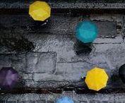 parapluie à l'école