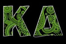 Kappa Delta / Loyalty forever to the green and white! / by Chloe Zimmerer