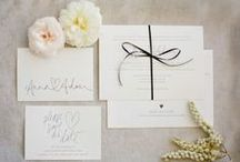 E V E N T S {invites, cards} / Inspiration for invitations, save the dates, name cards, place cards, and other paper cards