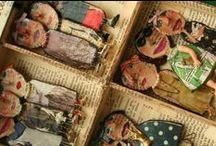 cabinets de curiosités à l'école / Art et boîte