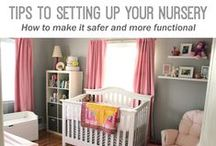 Nursery Inspiration & Crafts / Beautiful Nursery reveals and inspirational projects inside a nursery / by Tara Nehil [SpotOfTeaDesigns]