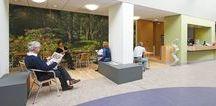 HEALTHCARE | Diakonessen ziekenhuis, Zeist / Het Diakonessenhuis met locaties in Utrecht en Zeist koos bij de nieuwbouwprojecten voor het Planetree-concept; een innovatief zorgmodel waarin de mens centraal staat. Doel is te komen tot betere zorg die wordt geleverd door een gezonde organisatie aan cliënten die zich thuis voelen in een helende omgeving. Architectuur en inrichting leveren een bijdrage aan het algeheel welbevinden van de patiënten en houden ook rekening met bezoekers, familie en vrienden.