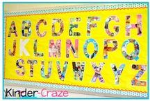 K is for Kinder / Ideas for my K classroom