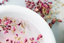♡ Natural beauty / Natural recipes for scrubs, lotions and elixirs