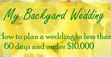 Wedding / My beautiful wedding day and other inspirations