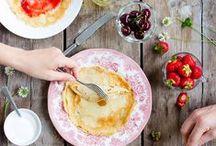 Vegan Breakfasts Ⓥ / Plant-based breakfasts. Smoothies, smoothie bowls, porridge, granola, waffles, pancakes etc.! + Food photography inspiration