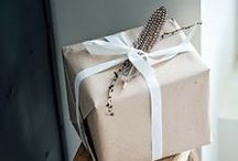♡ Wrap / Gift and product wrapping ideas