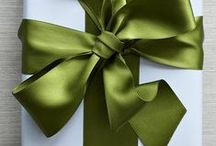 Gift wrapping / by Alena Kirby