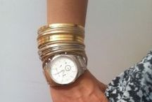 Trend Alert! Mixed Silver & Gold  / by Alena Kirby