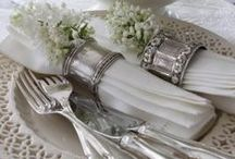Table settings / by Mihaela Oprea